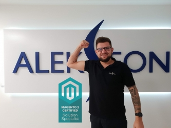 Our man is a Certified Magento 2 Solution Specialist