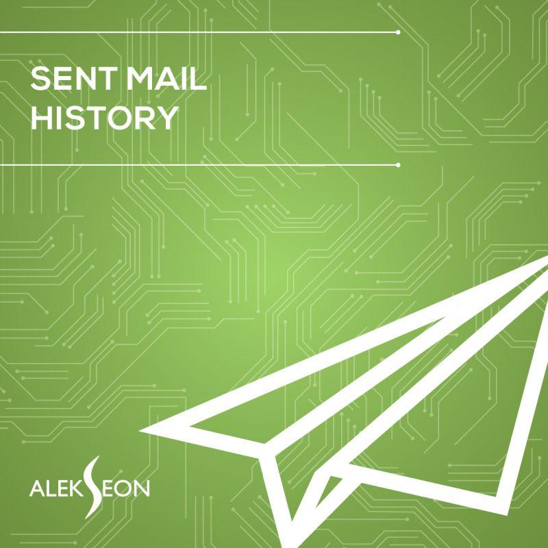 Sent Mail History